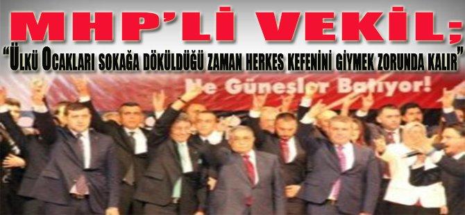 MHP'li Vekil...