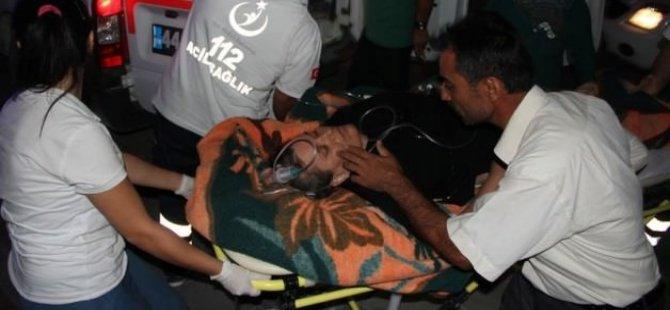 Virajı alamayan otobüs devrildi: 19 yaralı