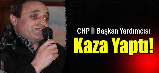CHP İl Başkan Yardımcısı Kaza Yaptı!