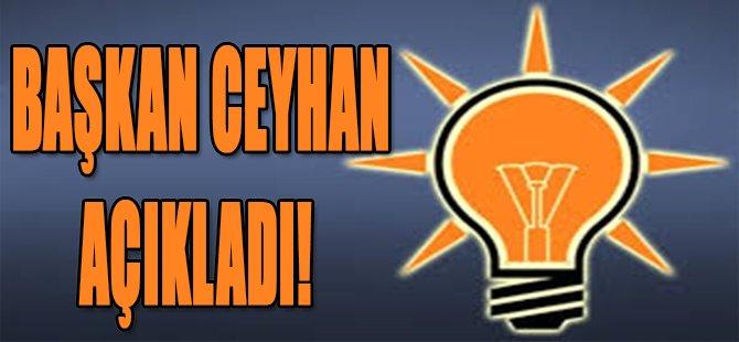 Başkan Ceyhan Açıkladı!