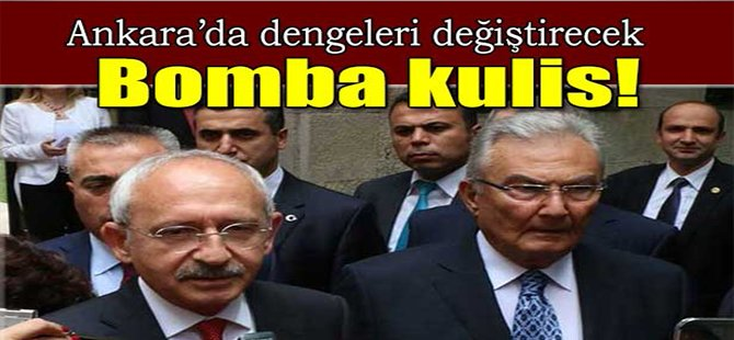 Ankara'da dengeleri değiştirecek bomba kulis!