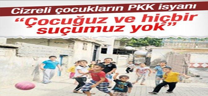 Cizreli çocukların PKK isyanı