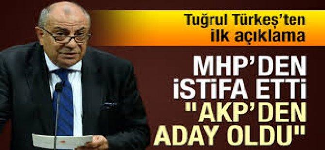 Türkeş MHP'den İstifa Etti, AKP'den Aday Oldu