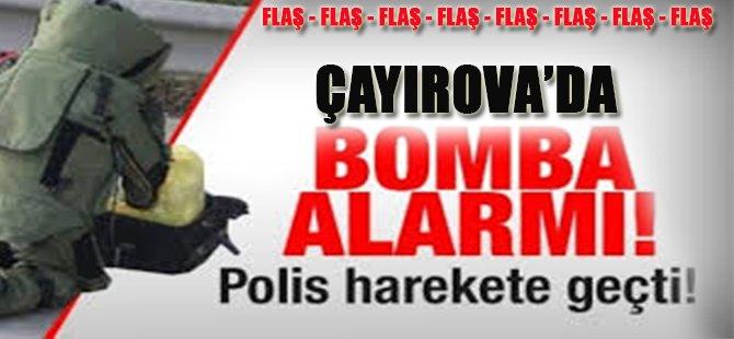 Çayırova'da Bomba Paniği