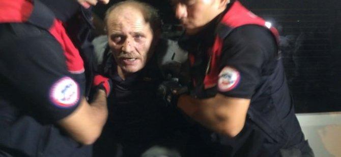 Cezaevinden kaçtı polise ateş açtı!