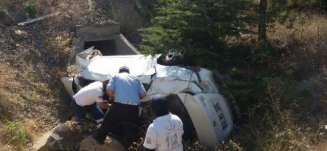 Kayıp 2 genç kaza kurbanı!