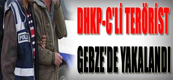 DHKP-C'li terörist Gebze'de yakalandı