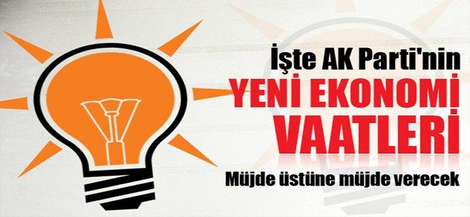 İşte AK Parti'nin yeni ekonomi vaatleri
