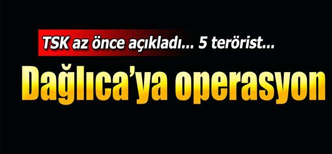 Dağlıca'ya hava harekatı... 5 terörist öldürüldü