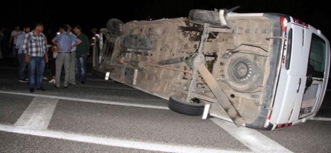 Feci kaza: 15 yaralı