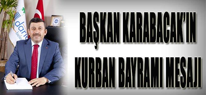 Başkan Karabacak'ın Kurban Bayramı Mesajı