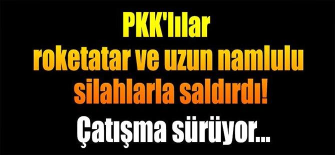 Siirt'te PKK, askerlere roketatarla saldırdı