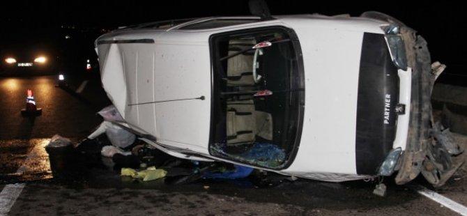 Yola çıkan köpek kazaya neden oldu: 5 yaralı