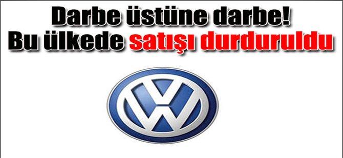 Volkswagen satışını durduruldu