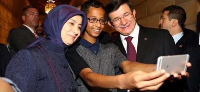 Davutoğlu, Ahmed Muhammed ile görüştü