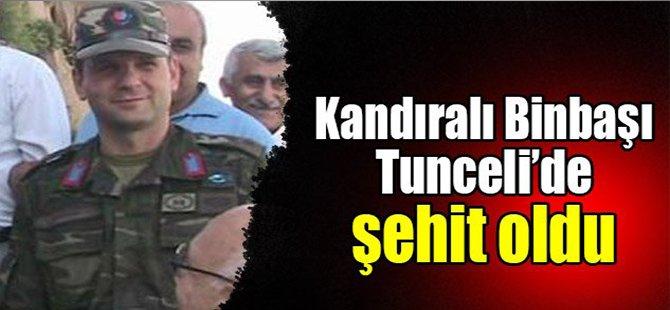 Kandıralı Binbaşı Tunceli'de şehit oldu