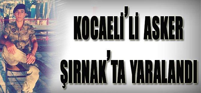 Kocaeli'li Asker Şırnak'ta Yaralandı