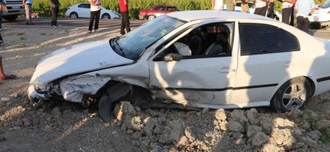 Zincirleme kaza! 4 kişi yaralandı