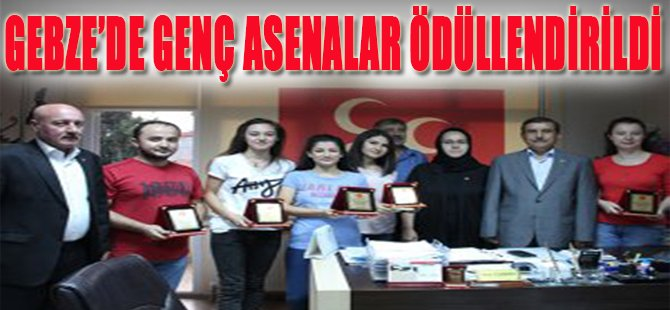 Gebze'de Genç Asenalar Ödüllendirildi