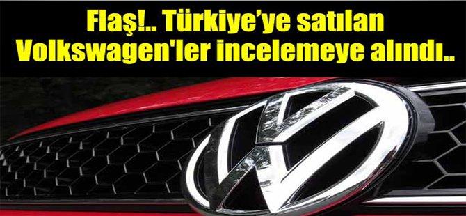 Türkiye'deki Volkswagenler İncelemeye Alındı