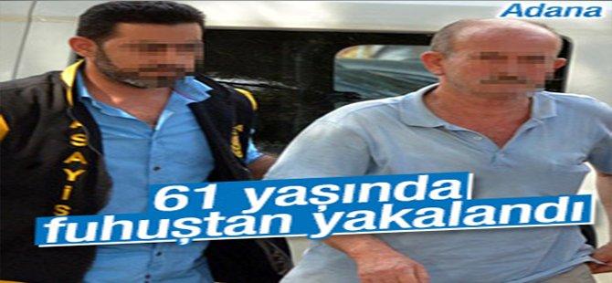 61 Yaşındaki Adam Fuhuştan Yakalandı