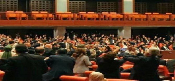 Kısa dönem vekiller Meclis'e veda etti