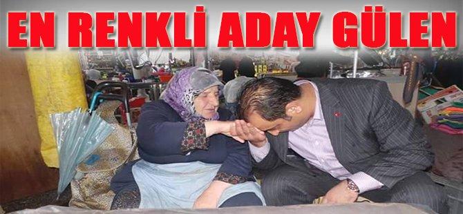 En Renkli Aday Gülen