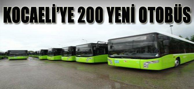 Kocaeli'ye 200 Yeni Otobüs