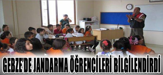 Gebze'de Jandarma Öğrencileri Bilgilendirdi