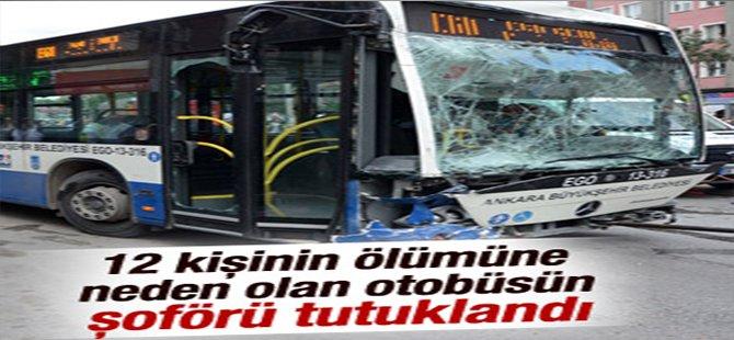 Otobüs faciasının şoförü tutuklandı