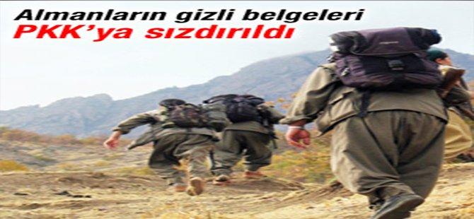 Gizli belgeler PKK'ya sızdırıldı