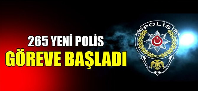 Kocaeli'ye 265 Yeni Polis