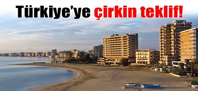 Türkiye'ye çirkin teklif!
