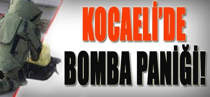 Kocaeli'de Bomba Paniği!