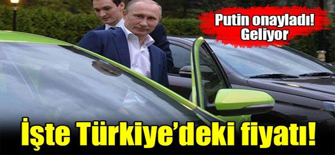 Putin yerli otomobili test etti!