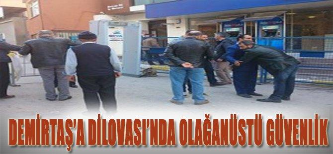 Demirtaş'a Dilovası'nda Olağanüstü Güvenlik