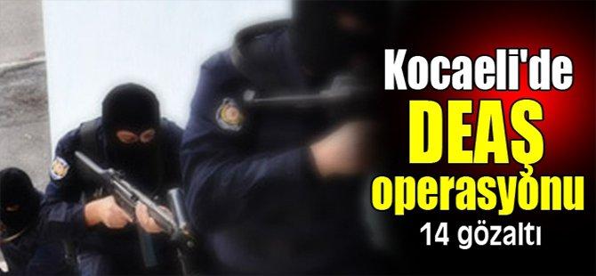 Kocaeli'de DEAŞ operasyonu: 14 gözaltı