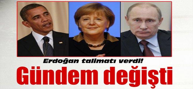 Erdoğan talimatı verdi! Gündem değişti