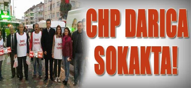 CHP Darıca Sokakta