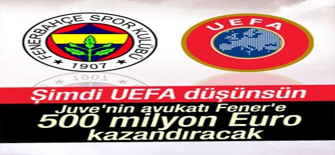UEFA ve TFF'ye 500 milyon Euro'luk dava