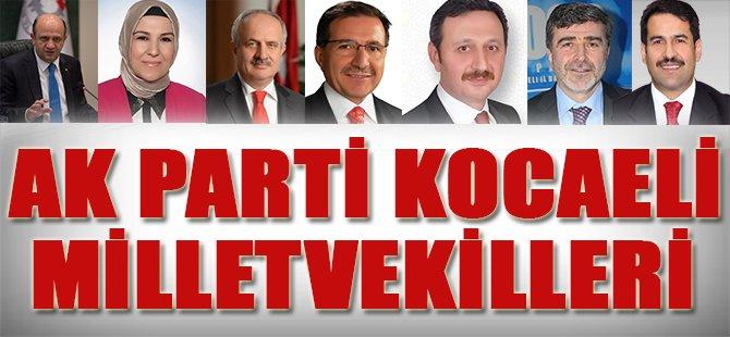 Ak Parti Kocaeli Milletvekilleri