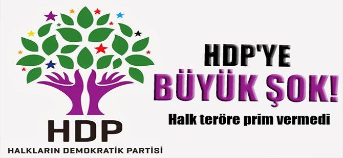 HDP'ye büyük şok! Halk teröre prim vermedi