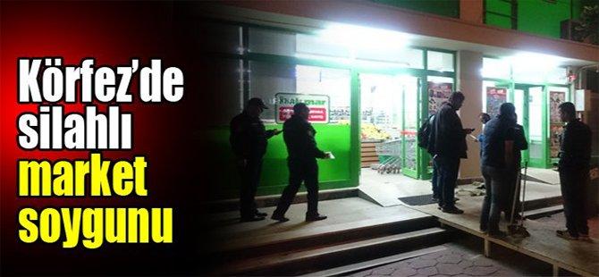 Körfez'de silahlı market soygunu