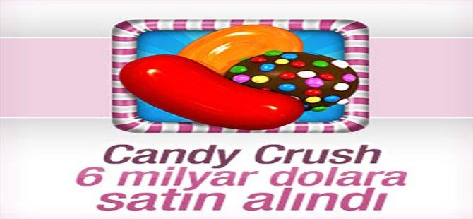 Candy Crush için 6 milyar dolar teklif edildi