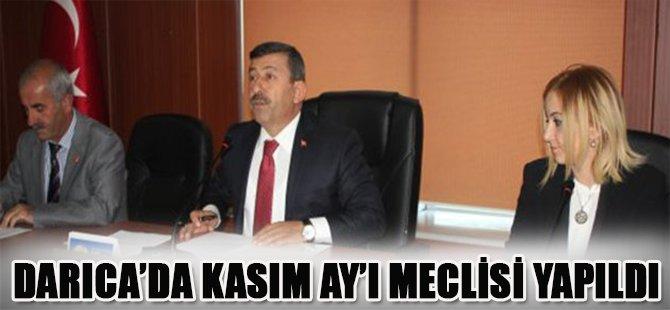 Darıca'da Kasım Ay'ı Meclisi Yapıldı