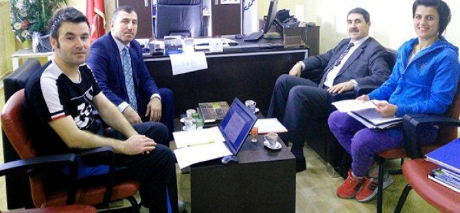 Okul Sporlarında Tertip Komitesi Toplandı