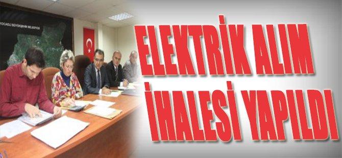 Elektrik Alım İhalesi Yapıldı
