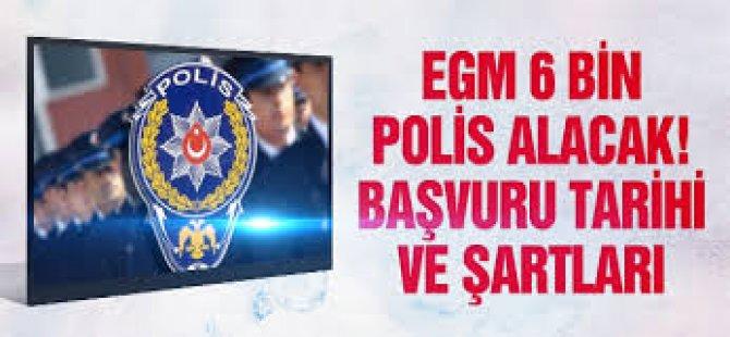 EGM Polis Alım Şartları