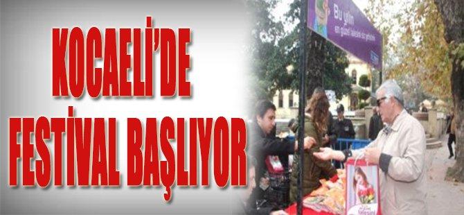 Kocaeli'de Festival Başlıyor