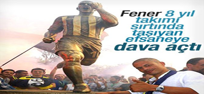 Fenerbahçe, Alex de Souza'ya dava açtı